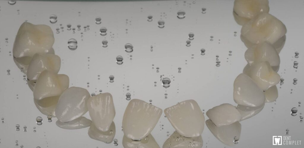 fațete dentare dent complet